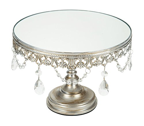antique wedding cake stand collection antique silver 10 inch mirror cake 1325