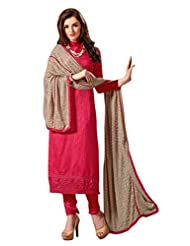 Mantra Fashion New Designer Embroidery Long A-Line Salwar Suit - B016F7ZPOM