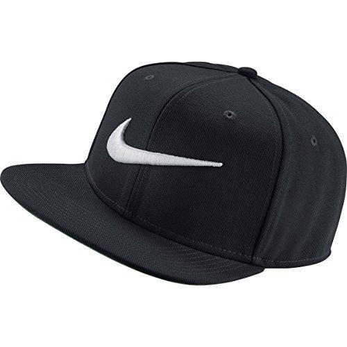 swoosh baseball cap