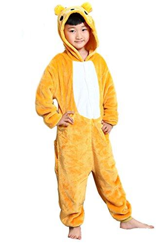 Kid's Cartoon Animal Yellow Bear
