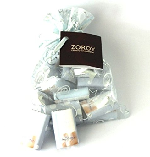"ZOROY Chocolate Newborn Bag Blue With 20 ""It's A Boy"" Chocolates"