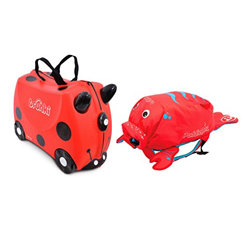 Trunki, Set Valise & Sac à dos Enfant, rouge (Rouge) - 0261-GB01