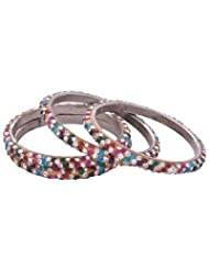 """Aakshi """"Beautiful Colours Of The World Set Of 4-PC Bangle"""