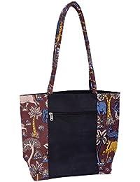 MOKSH Jute Blue Reusable Shopper Bag (JB-009)