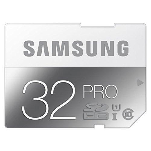 SDカード 32GB SAMSUNG PRO(最大読出速度90MB/s:最大書込速度80MB/s) Class10 UHS-I対応 10年保証 MB-SG32D/JPEC 【日本サムスン正規品】