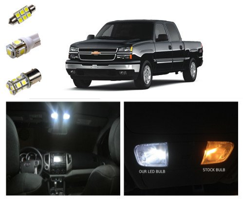 99-06 Chevy Silverado LED Package Kit Interior + Tag + Reverse (14 Pieces)