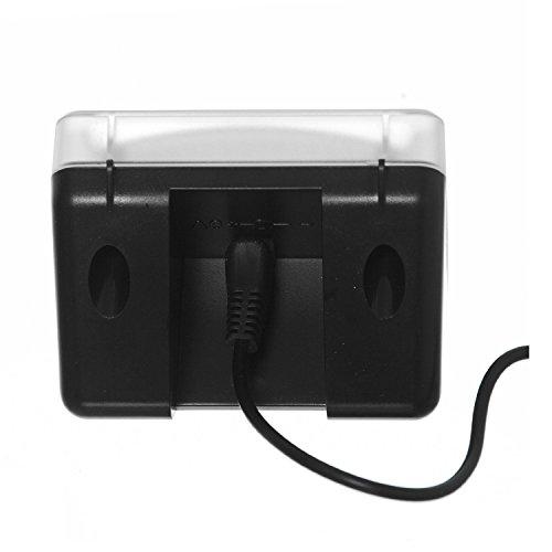 AGPTek® LED TV Simulator, Fernseh Attrappe-Fake, Einbruchschutz, Home Security, Lichtsensor und Timer, 3 Programme wählbar, 20 farbige LEDs - 6