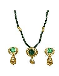 Kshitij Jewels Metal Pendant Jewellery Set For Women (KJM 057)