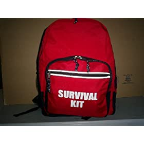 Emergency Survival Disaster 5 Person Home / Office Backpack Kits