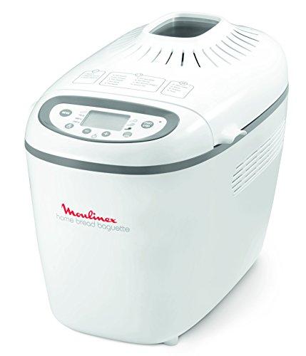 Moulinex Home Baguette OW6101 - Panificadora (1.650 W), 16 programas
