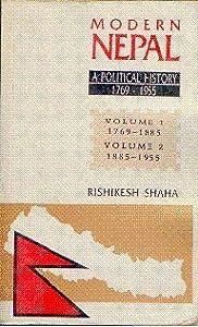 Modern Nepal: A Political History 1769-1955  Paperback  by Rishikesh Shaha
