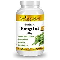 Moringa Leaf Extract( 500mg), 60 Veg Capsules