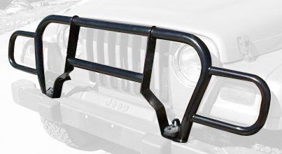 Rampage Jeep 7659 Black Front Grille Guard