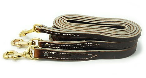Lessburg Latigo leather dog leash review