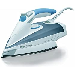 Braun TS765A TexStyle 7 - Plancha, 2400 W, color gris y azul