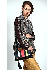 Mix N Match Multi Stylish Folder Clutch Fashion Bag With Multi Pocket - B01IBJWOO6
