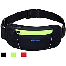 EAZYMATE Running Belt Wallet, Running Waist Pack Pouch For Men And Women