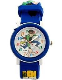 COSMIC ANALOG DESIGNER KIDS WATCH- BEN 10 IMAGE- BLUE STRAP