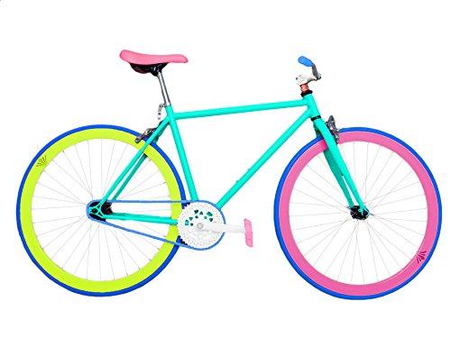 Wizard Industry Helliot Soho 5306 - Bicicleta fixie piñón fijo, unisex