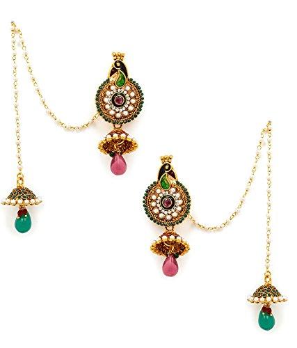 Akshim Multicolour Alloy Earrings For Women - B00NPY9MPM