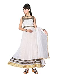 Red Apple Readymade Anarkali Dress With Exclusive Design - B01B4K2OFS