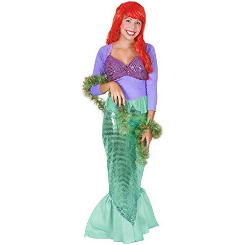 Halloween 2017 Disney Costumes Plus Size & Standard Women's Costume Characters - Women's Costume CharactersAdult Wistful Mermaid Costume Ariel