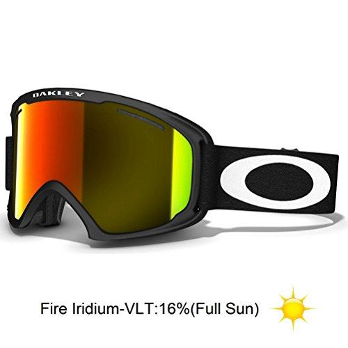Oakley 02 XL Goggle Matte Black/Fire Iridium, One Size