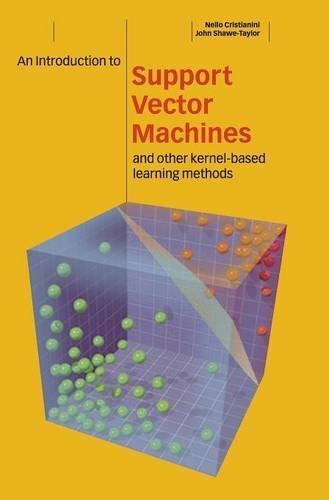 Descargas de grabaciones de libros de audio gratis An Introduction to Support Vector Machines and Other Kernel-based Learning Methods