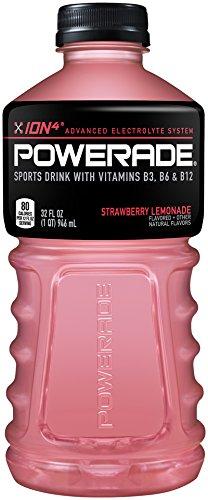 POWERADE, Strawberry Lemonade, 32 Fl oz Bottle