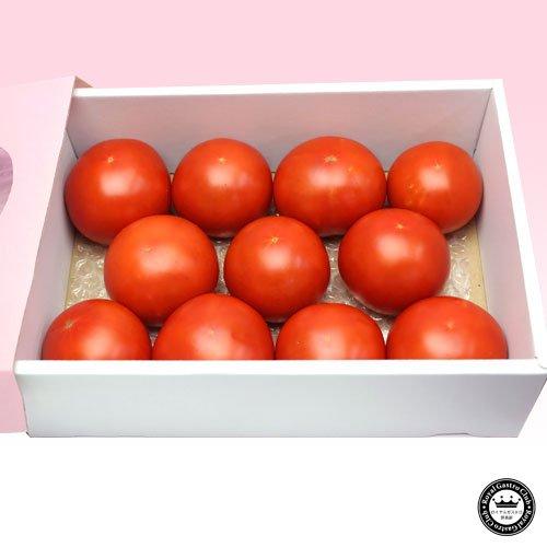 長野県産 完熟トマト ぜいたく トマト 10?15玉 1kg?1.2kg前後 ギフト箱入