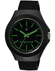 Fastrack Black Dial Unisex Analog Watch-38004PP04