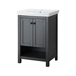 22 inch bathroom vanity with sink foremost hagos2417 hanley 22 inch vanity with vitreous 24748