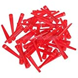 Alcoa Prime Pro 50pc 2.8 Inch Length Red Plastic Golf Tees Tee Golfer Golfing Club Lover