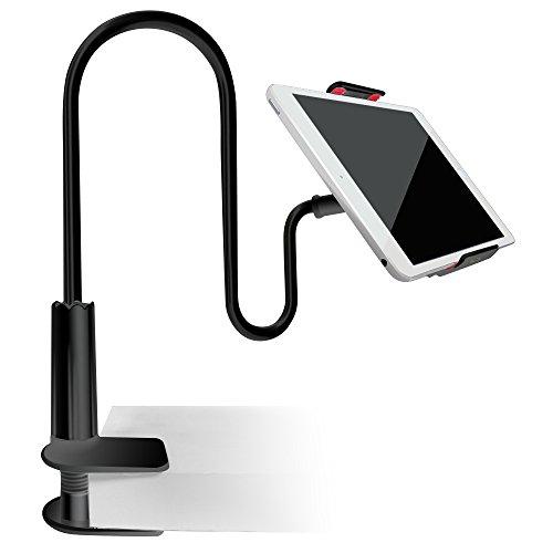 Support pour Smartphone Tablette Téléphone , AFUNTA Support de 70cm Bras avec Clip pour iPhone iPad Kindle GPS Samsung Blackberry...