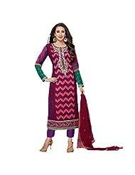 Fabefy Multicolor Party Wear Salwar Kameez