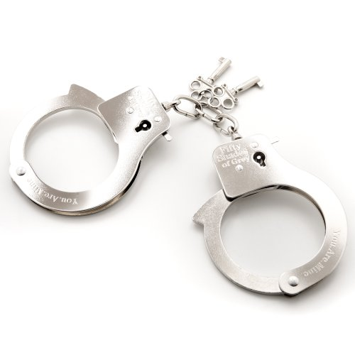 Fifty Shades Of Grey You Are Mine Metal Handcuffs, Best Men's Sex Toys - Feature Sex Toy Product Image
