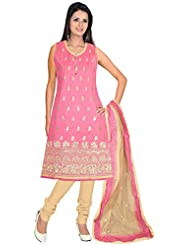 Elan Vital Women's Cotton Silk Straight Salwar Suit