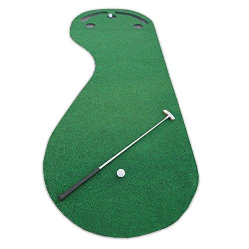 Par 3 Holes Practice Putting Green Indoor Golf Mat Training