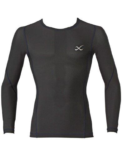 (シーダブリュエックス)CW-X スタイルフリートップ 丸首ロングスリーブシャツ VAO002 BL BL M