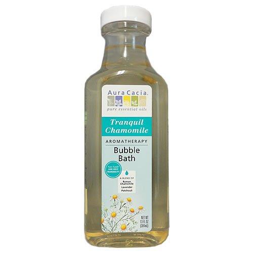 Aura Cacia Tranquility Natural Aromatherapy Bubble Bath -- 13 fl oz