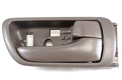 PT Auto Warehouse TO-2469B-RH – Inside Interior Inner Door Handle, Brown – Passenger Side