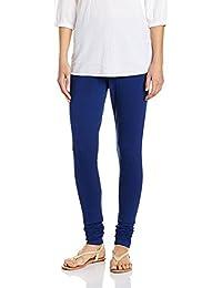 TSG Plain Royal Blue Cotton Leggings
