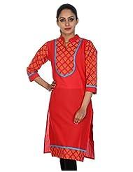 Rajrang Women Kurta Top Cotton Long Kurti - B00U25TWTI
