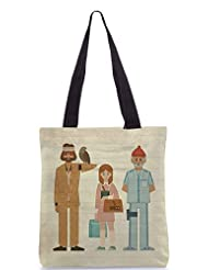Snoogg Be Hippie Poly Canvas Tote Bag