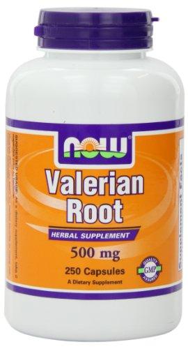 NOW Foods Valerian Root,  500mg, 250 Capsules