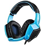 Sades SA920 Pro Gamer Headphone 5 In 1 Stereo Gaming Headset For Laptop PS4 Xbox 360 PC Cellphone(blue)