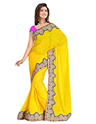 Sehgall Saree Indian Bollywood Designer Ethnic Professional Jacquard Crepe With Fancy Velvet Embriodery Border...