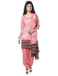 NITARA Women's Cotton Stitched Salwar Suit Sets - B01AJK4WS6