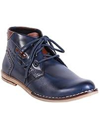 Quarks Men's Blue Casual Lace-Up Shoes - B016QAJ9WW
