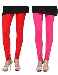 Style Acquainted People Women's Cotton Leggings (Pack Of 2) - B015J8AGU6